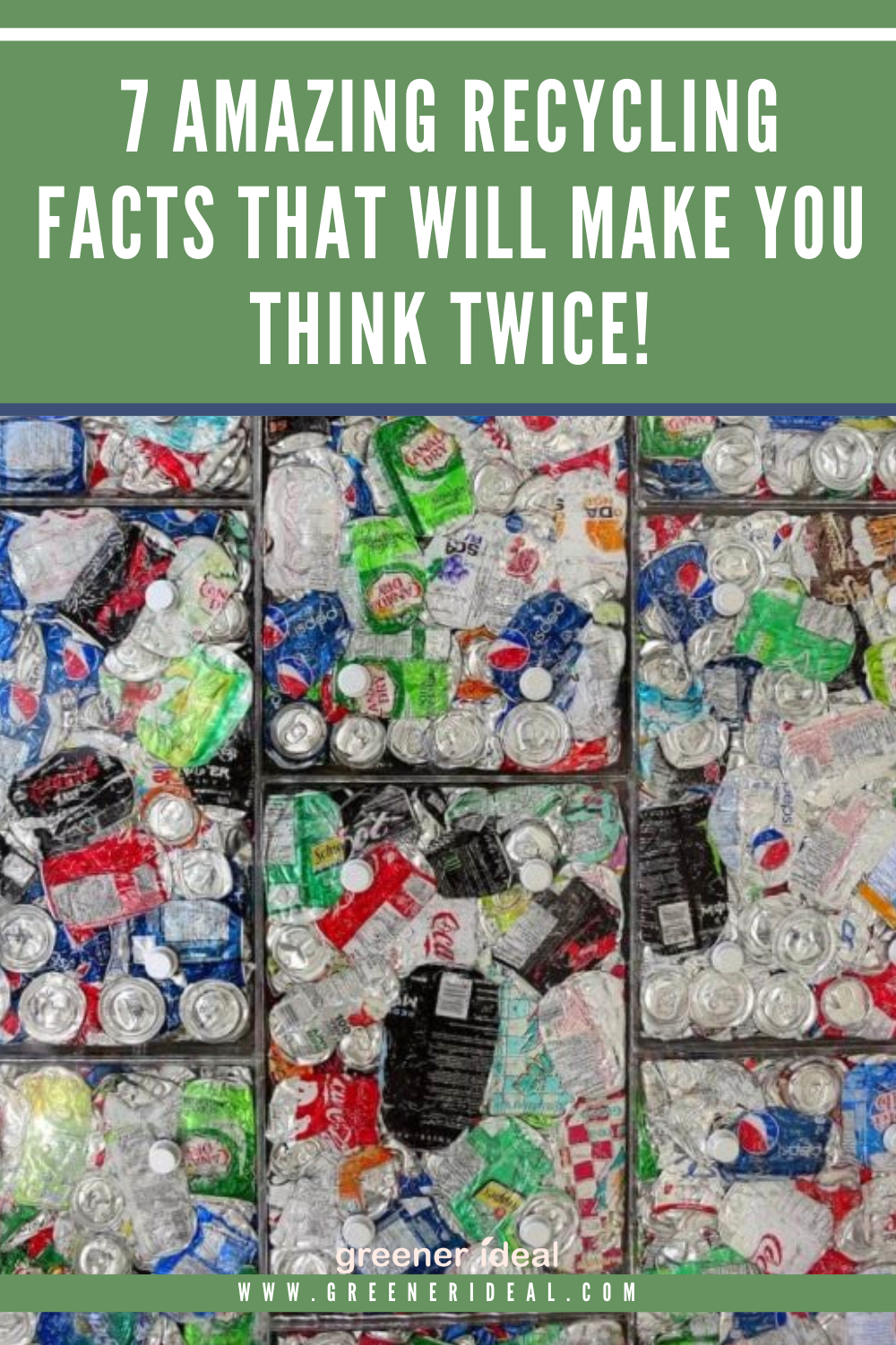 The more you know about recycling, the more you will be motivated to do it. Not only does recycling keep waste from overcrowded landfills, but it also provides raw materials to create new products. Check out these 7 Amazing Recycling Facts That Will Make You Think Twice, and Start Recycling!  #Recycle #Recycling #environment #Ecofriendly #RecyclingTips #GoGreen #GreenLivingTips #EcofriendlyTips #Waste #WasteReduction #WasteFree #Sustainable