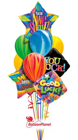 Youre Awesome Back To School Balloon Bouquet 10 Balloons