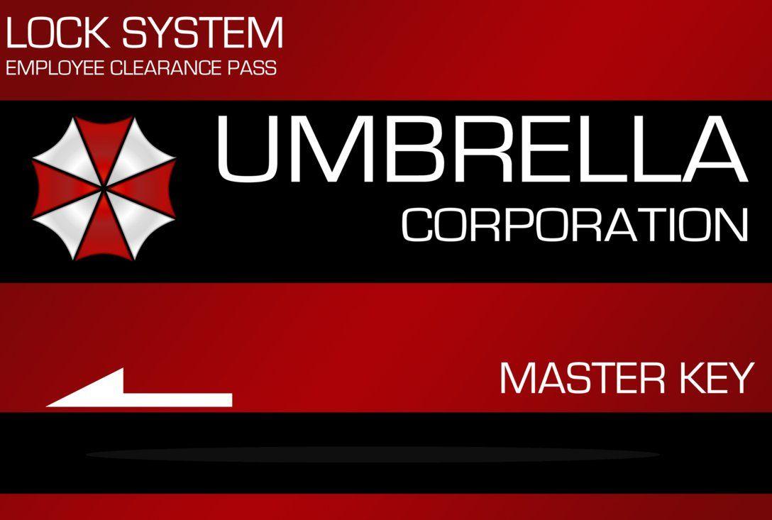 Umbrella Corp Key Card By Vincent2211 On Deviantart Bingkai Foto