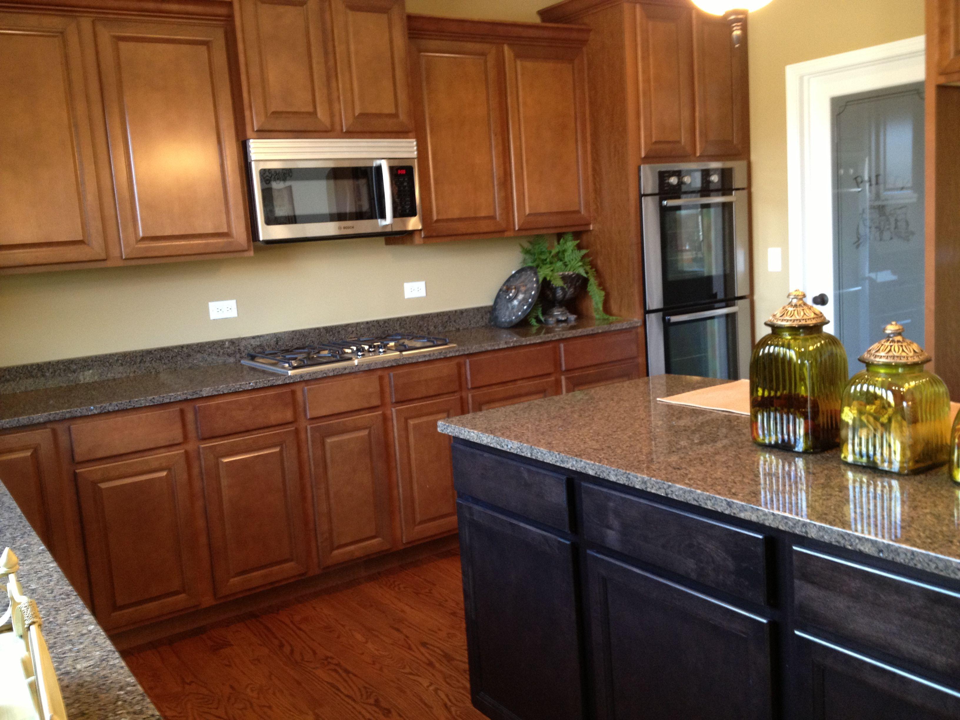 Add Sarsaparilla Cabinets To Your Island For Uniqueness In Your Kitchen Kitchen Design Kitchen Home