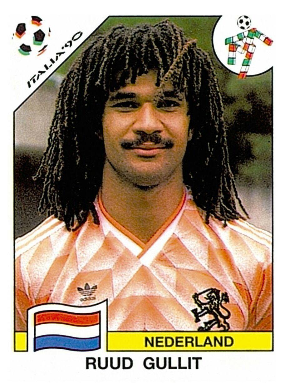 416 Ruud Gullit Nederland FIFA World Cup Italia 1990
