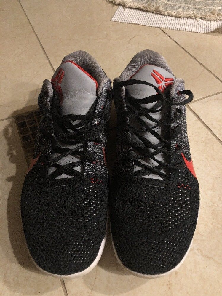 d9863b81e725 Black Red And Grey Kobes Size 13  shoes  shoesformen  mensshoes  coolshoes