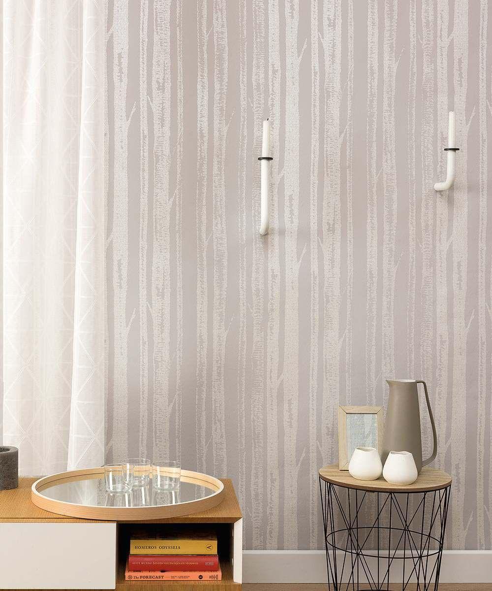 Soft Grey Living Room Ideas: Eco Birch Tree - Soft Grey In 2020