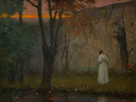 Jakub Schikaneder, Autumn Glow, 1900
