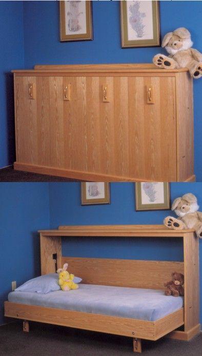 Full Size Murphy Bed Diy Furniture Plans