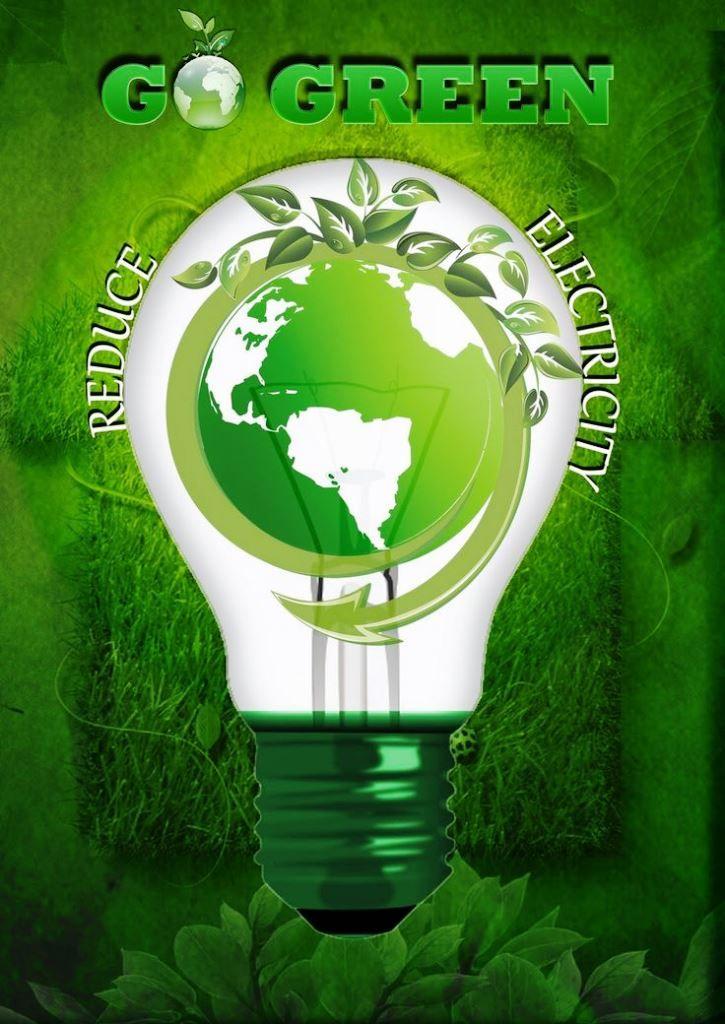 33 Contoh Poster Adiwiyata Go Green Lingkungan Hidup Hijau ...
