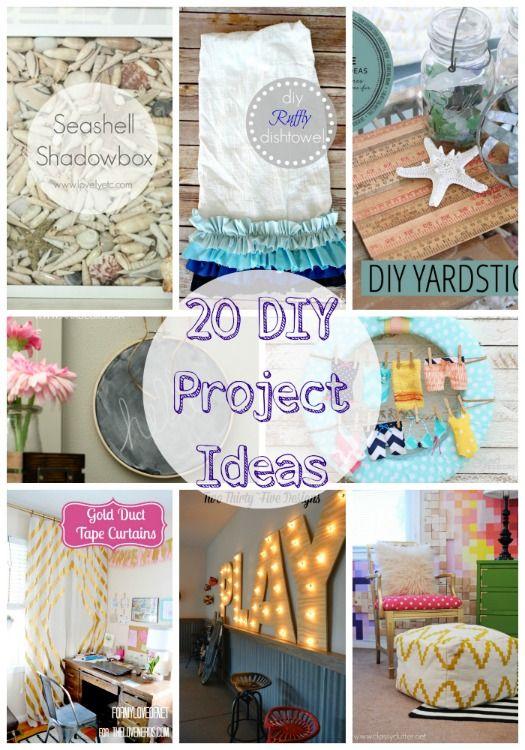 Twenty Diy Venture Ideas Website Link Get Together Attributes Http Www Diydecorationideas Com Diy Design Ideas T Diy Projects Diy Craft Projects Diy Crafts