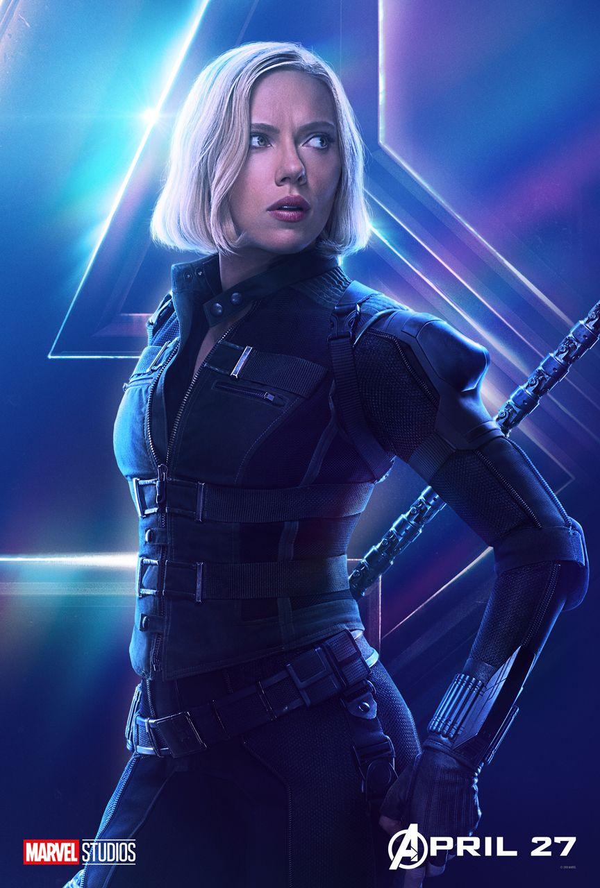 Scarlett johansson black widow poster - photo#29