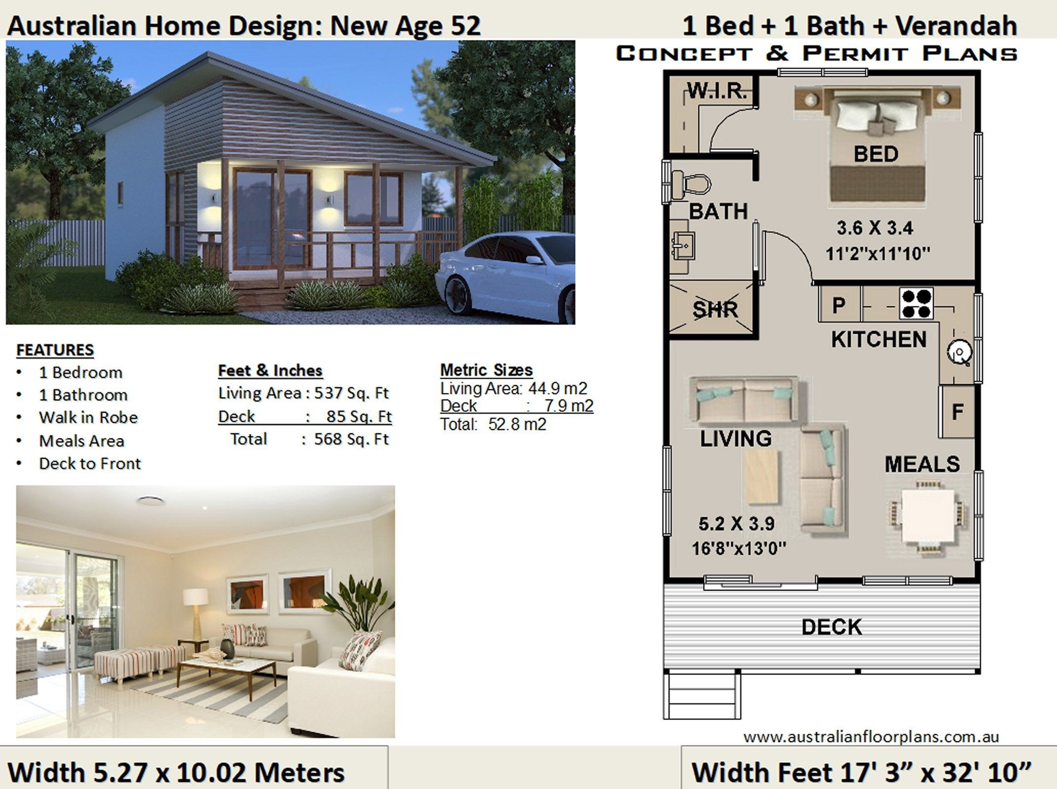 Small House Plan 52 New Age 1 Bedroom Home Design Concept House Plans For Sale House Plans For Sale House Design House Plans