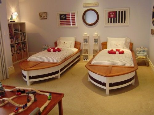 gorgeous boat beds