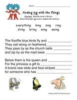 dr seuss word family worksheet  activities word families and  &
