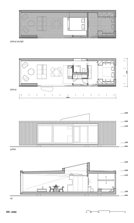 Detox im slowakischen Wald Mobiles Minihaus von Ark shelter studio