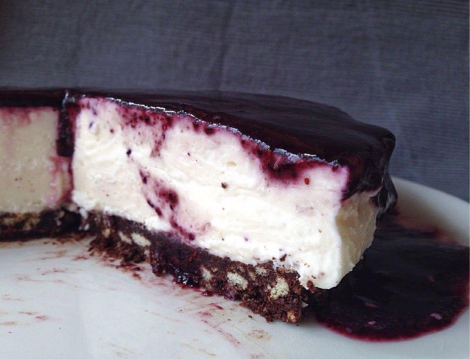 Skyr Torte Ist Eine Kuhlschranktorte Bestehend Aus Islandischem