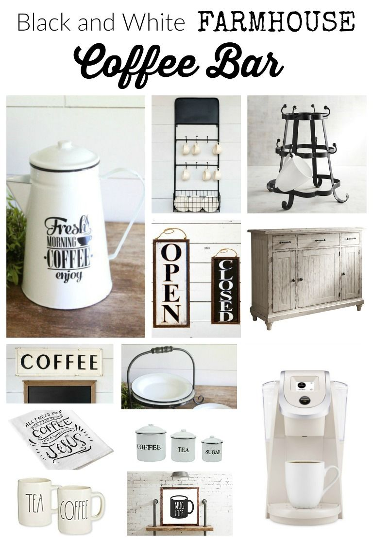 Photo of Farmhouse Coffee Bar Must Haves
