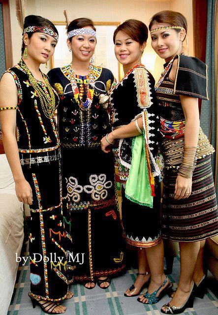 Traditional Costume Of Sabah Wanita Pakaian Budaya