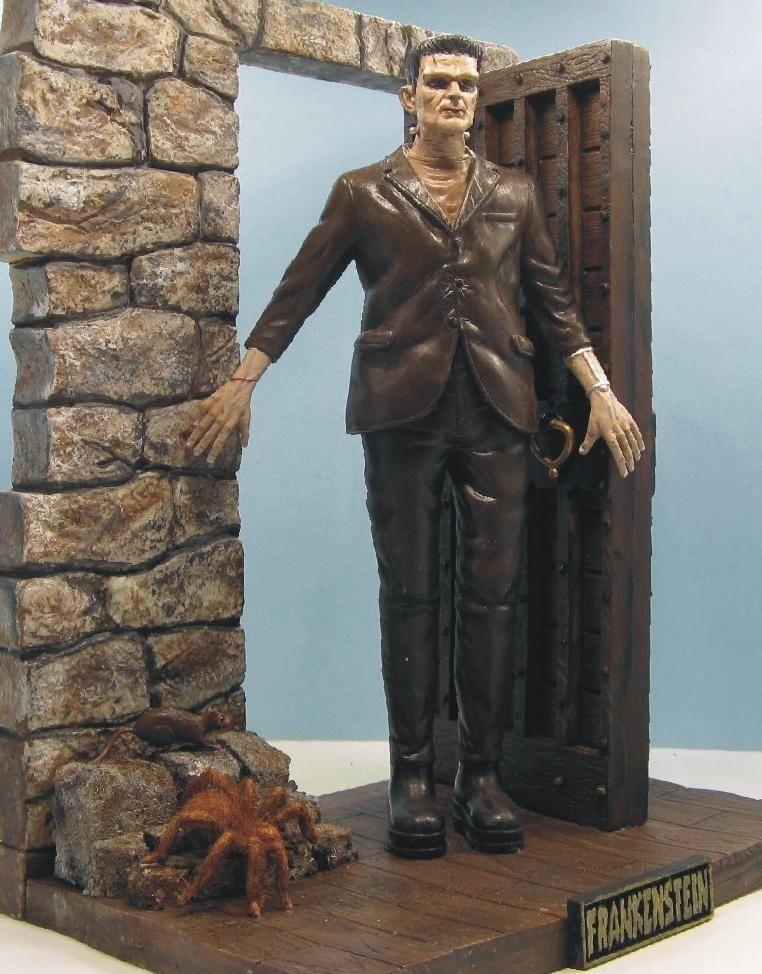 Boris Karloff as Frankenstein Model Kit 1:6 scale from