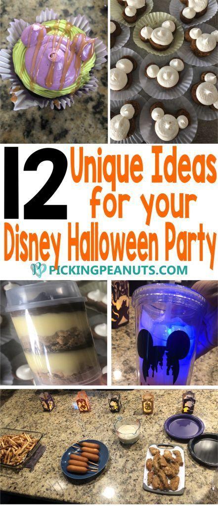 Disney Halloween Party Ideas - PickingPeanuts Disney Halloween