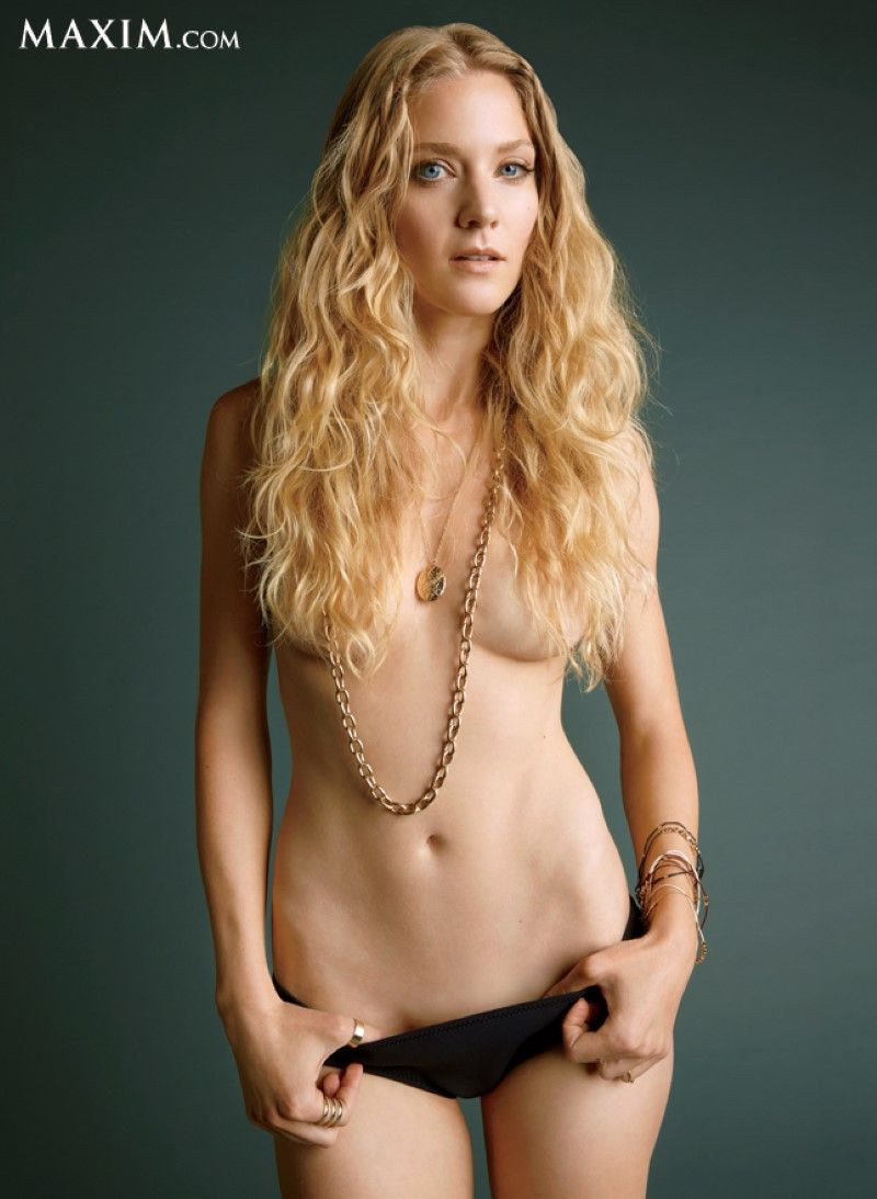 Winter Ave Zoli Topless For Playboy