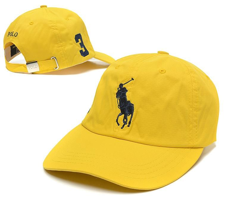 26ec69d26e5 Men s   Women s Polo Ralph Lauren Big Pony Embroidered Logo No 3 Adjustable…