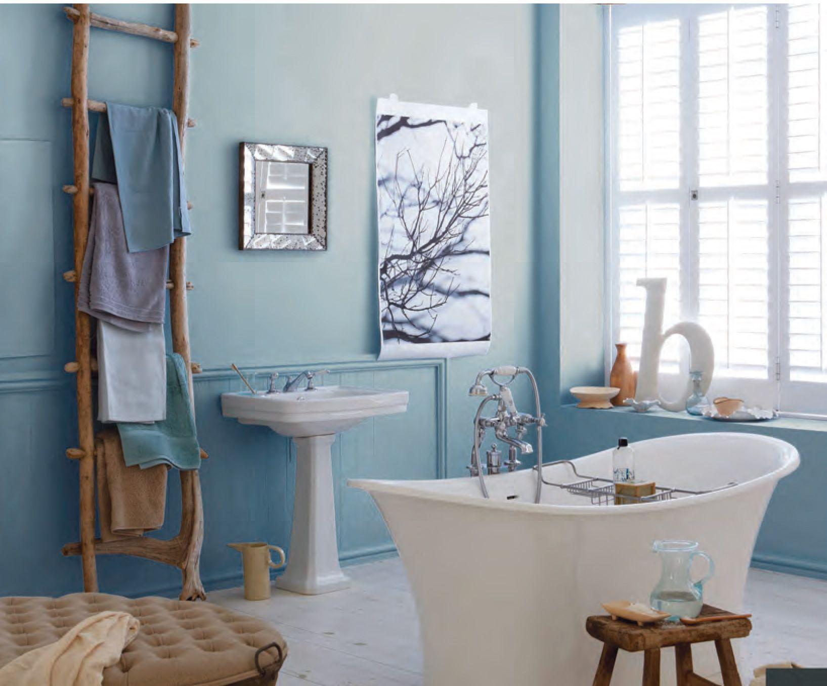 Badezimmer dekor ideen 2018 modisch blau bad deko ideen  mehr auf unserer website  pflegen sie