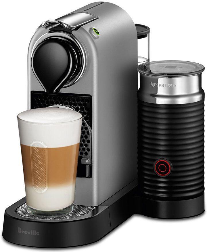 Nespresso by Breville CitiZ & Milk Silver Bundle | For the Home ...