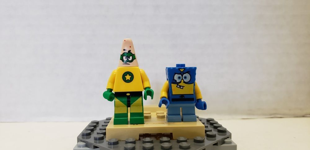 LEGO Spongebob 3815 Mini Figure Minifig Super Patrick Star