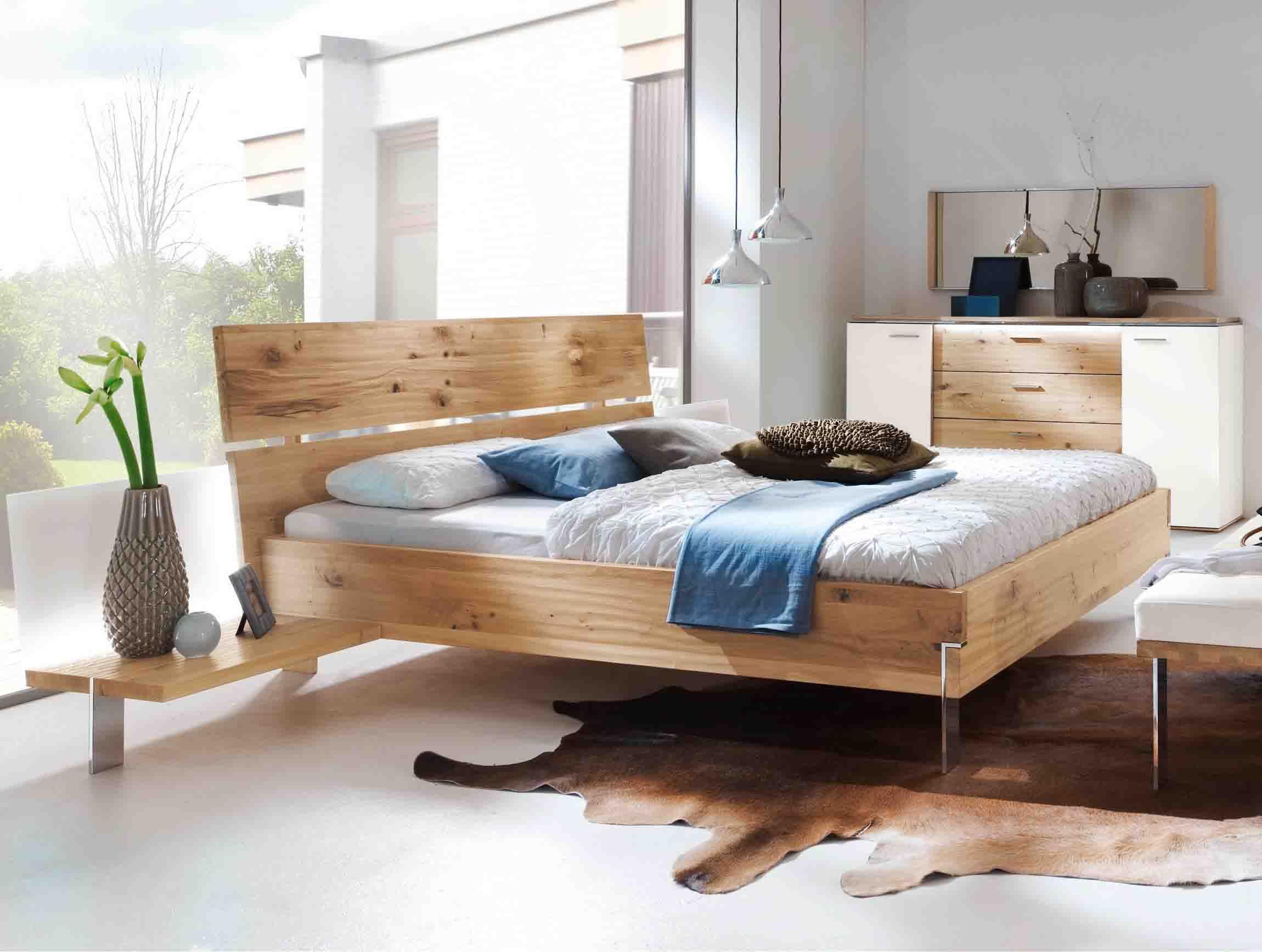 Thielemeyer Bett Loft mit Holzkopfteil Eiche Haus deko