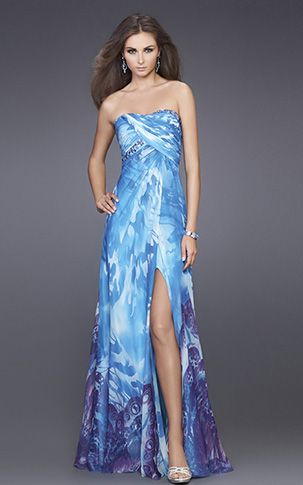 17 Best images about Print Prom Dresses on Pinterest - Animal ...