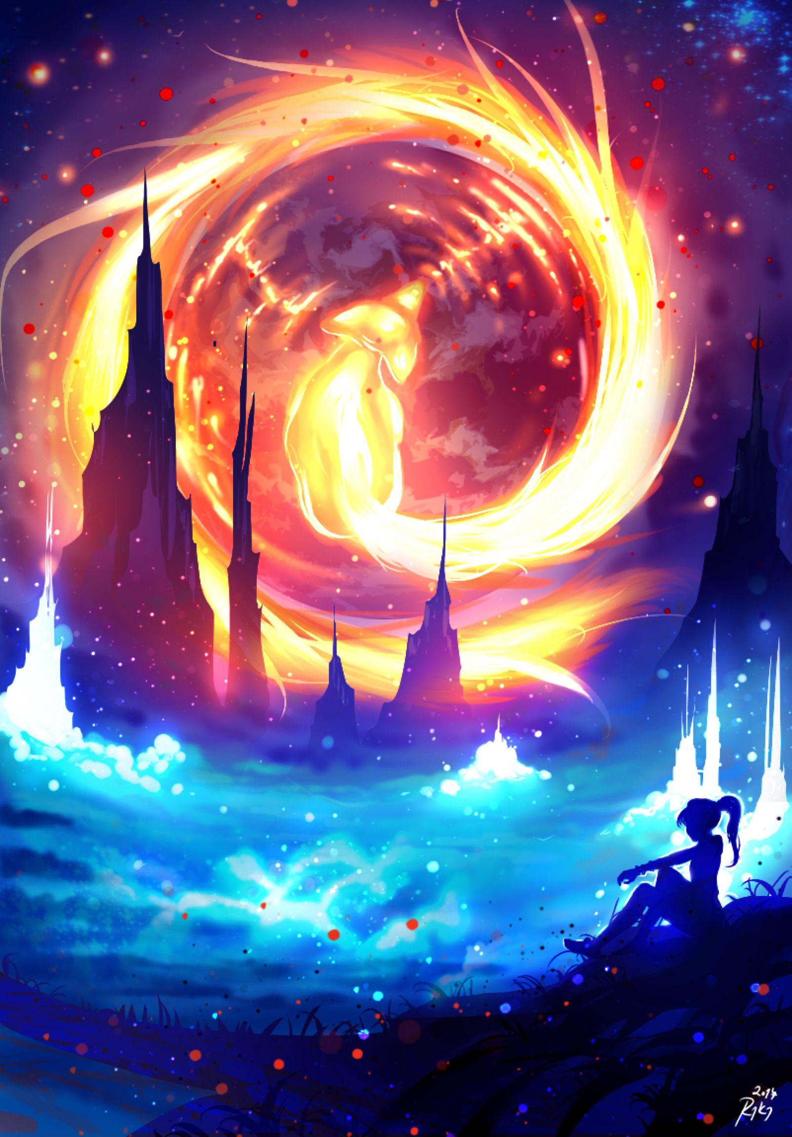World Of Firefox By Ryky On Deviantart Anime Wallpaper Anime Scenery Art Wallpaper