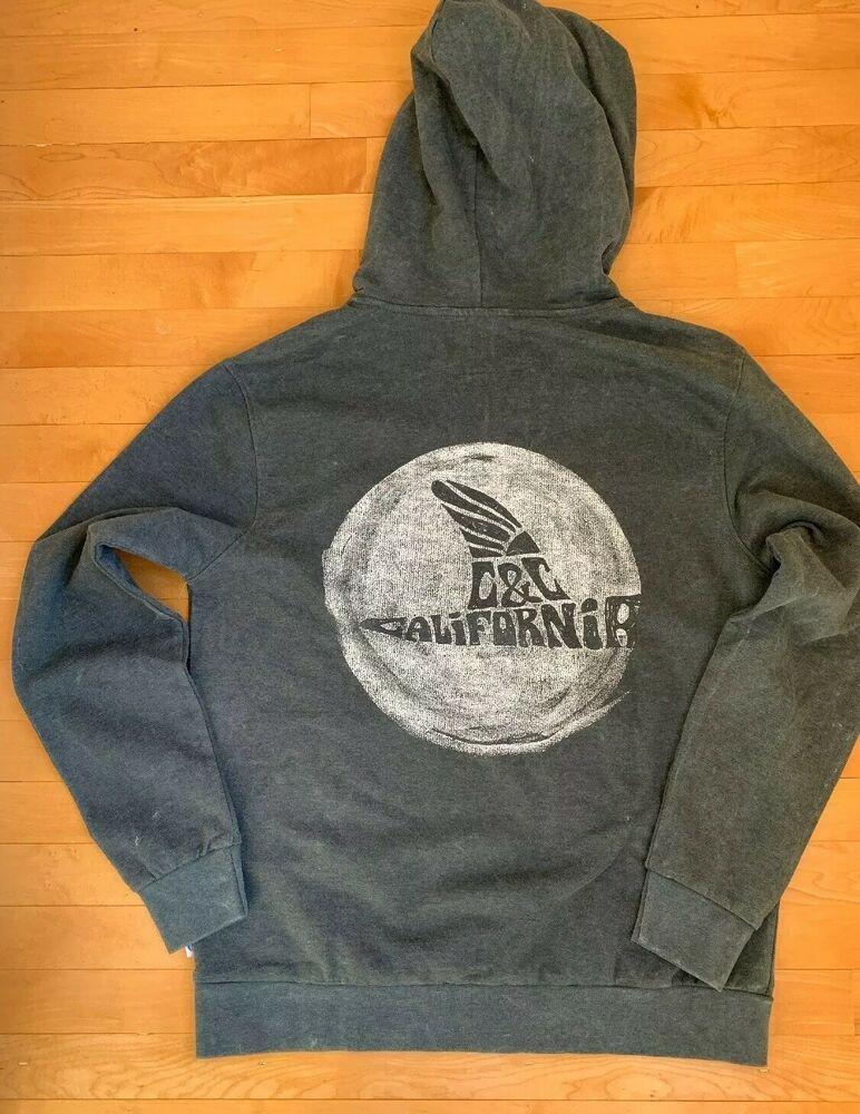 Men/'s CALIFORNIA REPUBLIC FLAG Black Hoodie pullover sweatshirt sweater bear