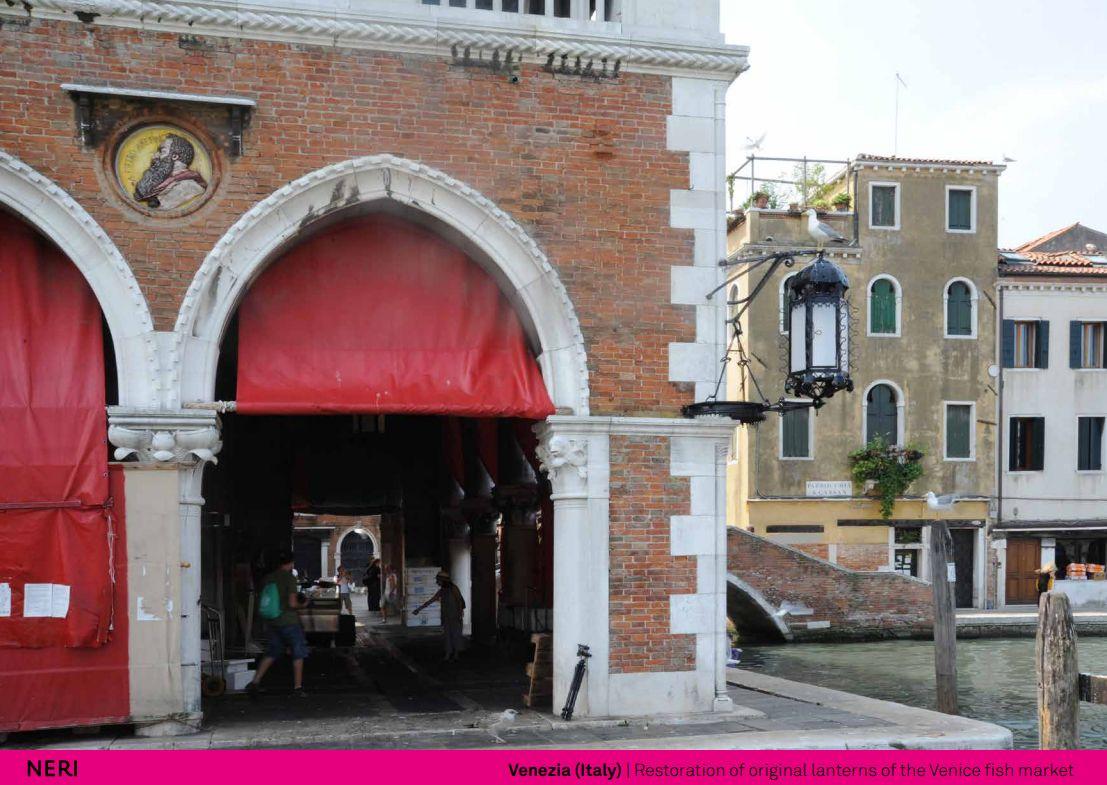 Pin By Neri SpA On Restoration Venice Fish Market