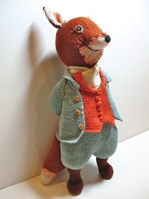 Mr Tod Pattern By Alan Dart Completed May 18 2012