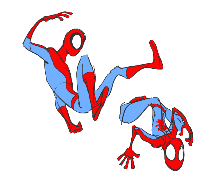 EclecticBox Shared Tumblr (jennerallydrawing: some spidey doodles!)
