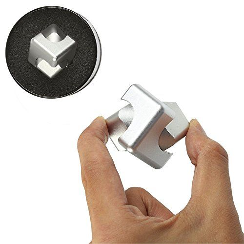 Hand Spinner Fid Toy Gemwon New Cube Hand Spinner Metal Tri