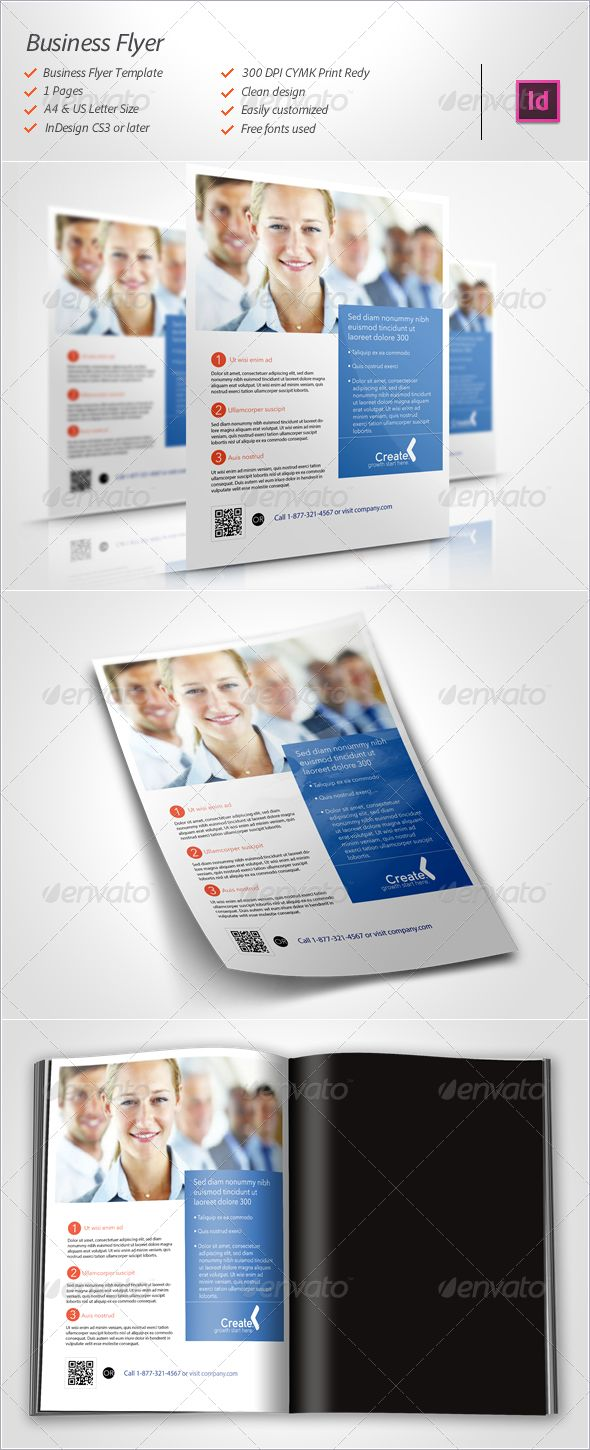 Business Flyer Graphicriver Professional Clean And Modern