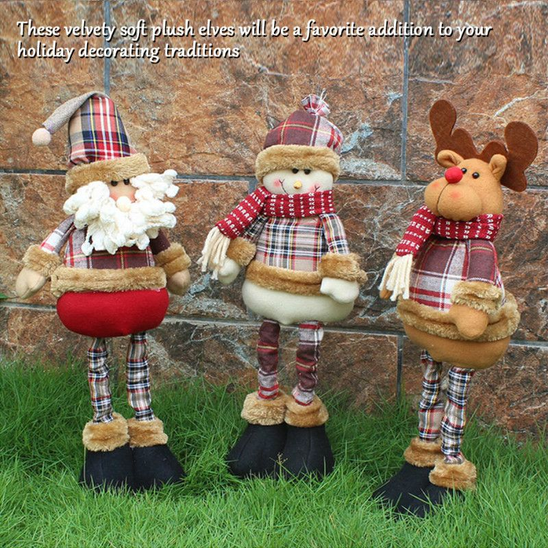 TTLIFE Hot Sale Santa Claus Snow Man Reindeer Doll Christmas Decoration Xmas Gift Plush Dolls Toys Christmas Home Decor Ornament #>=#>=#>=#>=#> Click on the pin to check out discount price, color, size, shipping, etc. Save and like it!