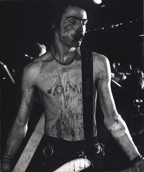 Sid Vicious by Bob Gruen, 1970