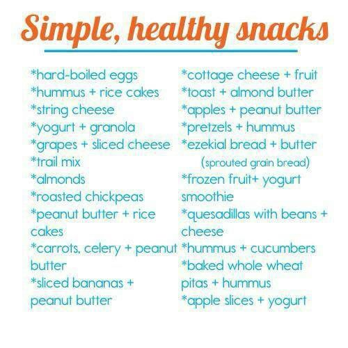 Healthy Snacks ♡