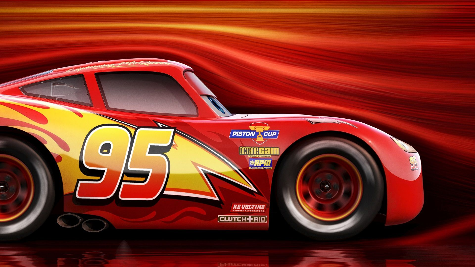 1920x1080 Lightning Mcqueen High Def Wallpaper For Mac Lightning Mcqueen Cars Movie Cars 3 Lightning Mcqueen