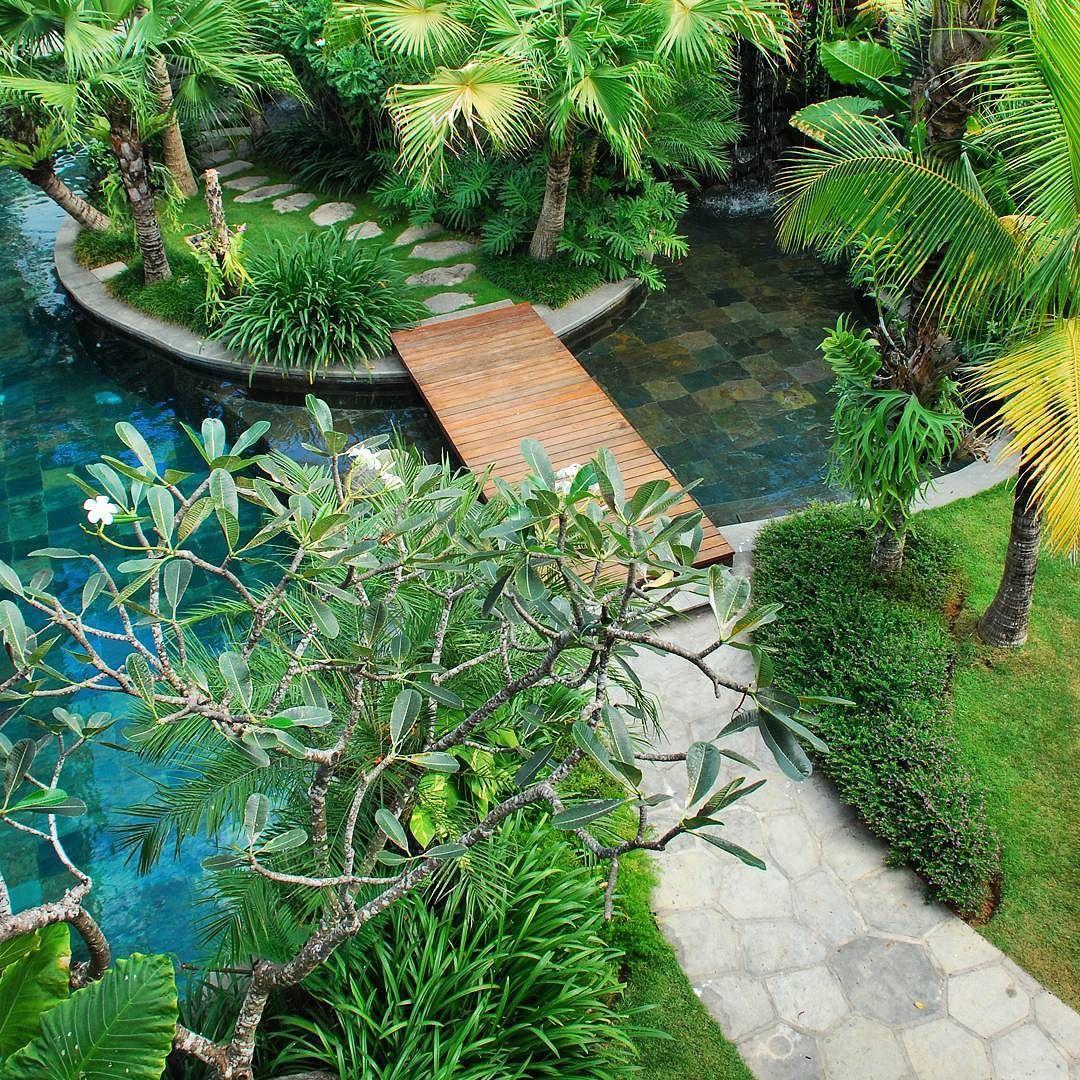 villa batavia pool a classic tropical villa garden in seminyak by