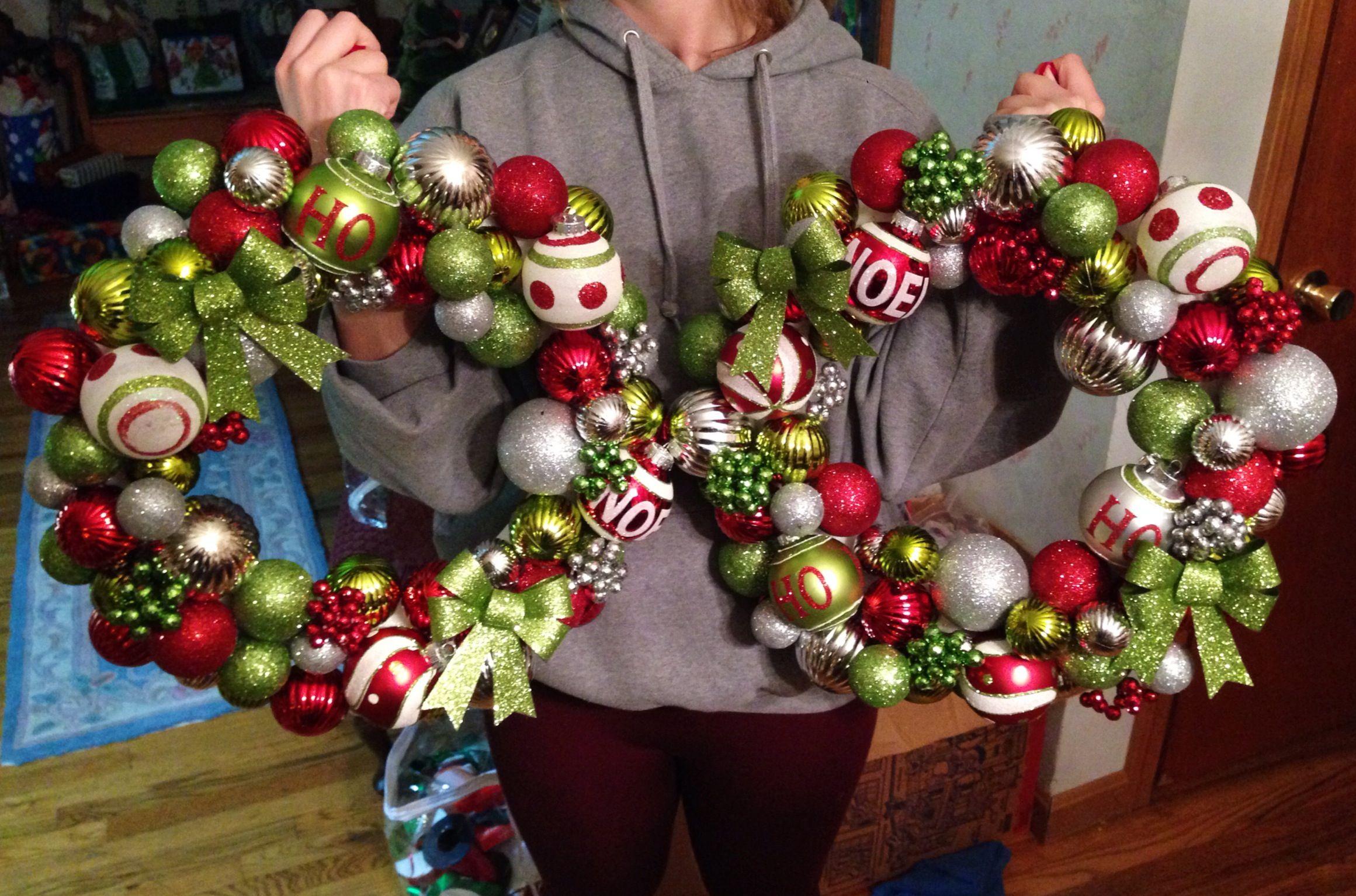 Pinterest christmas craft ideas wreaths for Pinterest christmas craft ideas