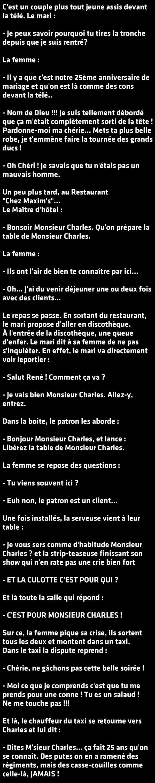 Le Pire Anniversaire De Mariage Du Monde My Wicked Sense