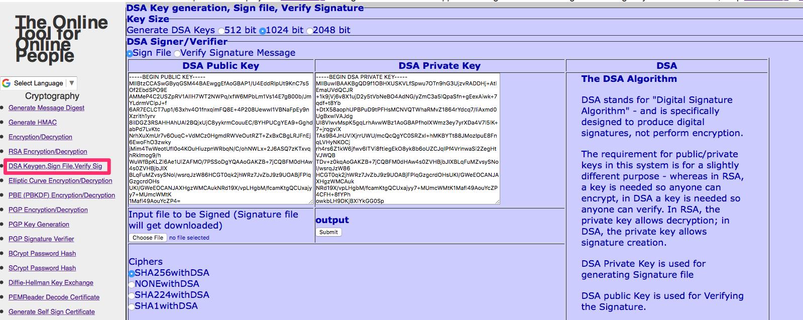Pin by Anish Nath on Cryptography | Generate key, Verify, Key