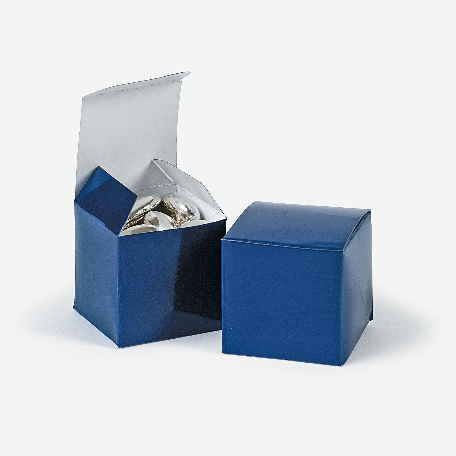 Mini Navy Gift Boxes - OrientalTrading.com just do cupcakes for ...