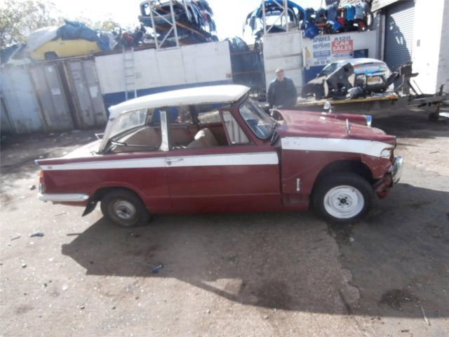 TRIUMPH HERALD ROOF WITH REAR WINDOW SCREEN breaking parts spares