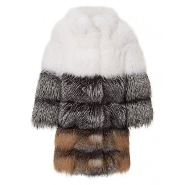 """fur jacket """"bubble"""" ($14,033) ❤ liked on Polyvore featuring outerwear"""