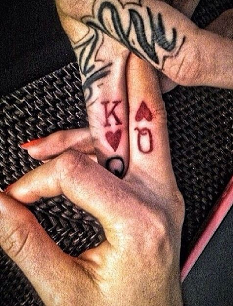 Couples Tattoo King And Queen Tattoo Piercing Ideas Tattoos