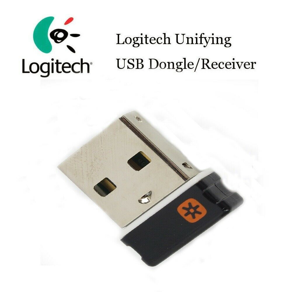 2.4GHz Wireless Keyboard Mouse Unifying Receiver 1 to 6 Devices USB Dongle