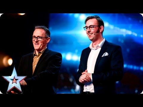 See more from Britain's Got Talent at http://itv.com/talent The Mimic Men aka Alfie and Cal want to see their name in lights, but will they be any closer to ...
