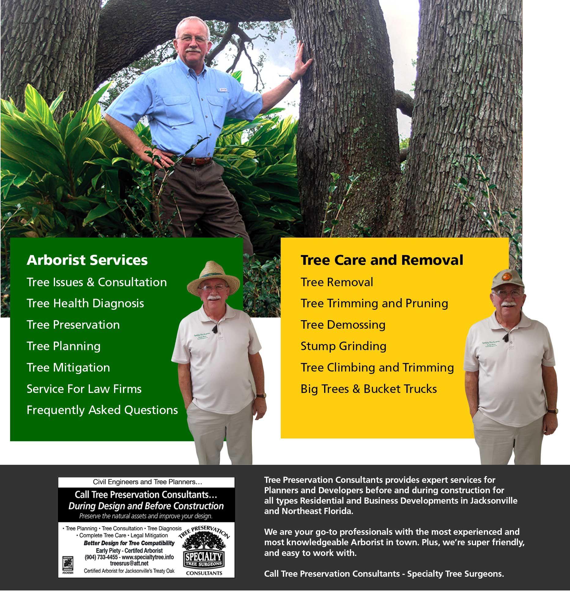 Certified Arborist Specialty Tree Surgeons, Jacksonville